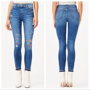 DL1961 Farrow High Rise Instaslim Jeans Sz 26 ::O3